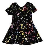 Social Butterfly Splatter Infant Dress