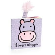 Jellycat If I Were a Hippo Board Book
