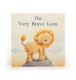 Jellycat The Very Brave Lion Story Book