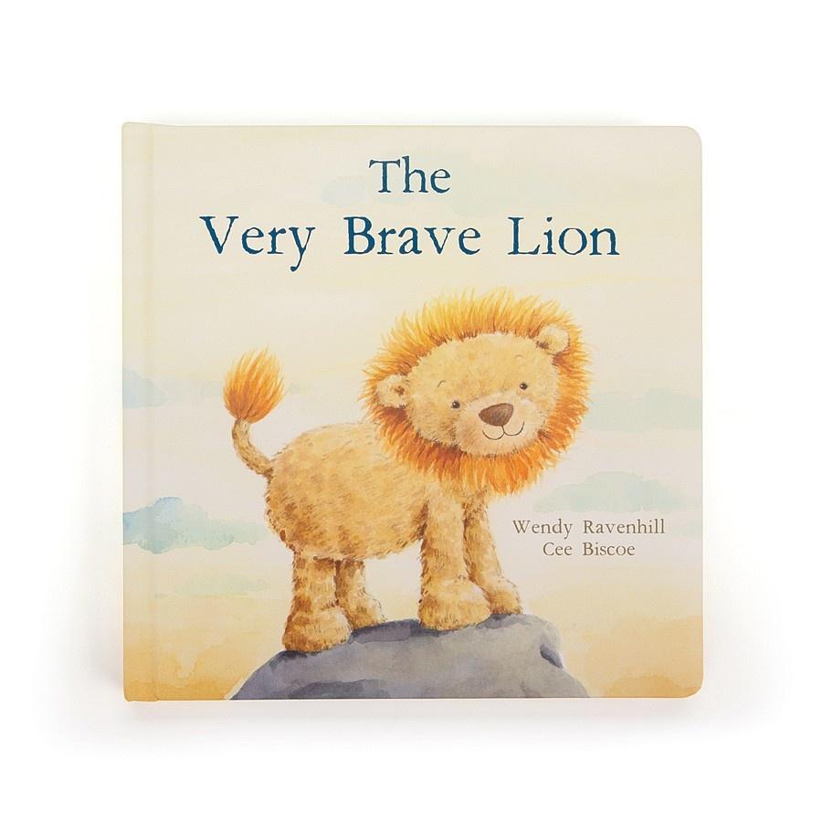 Jellycat The Very Brave Lion Story Book