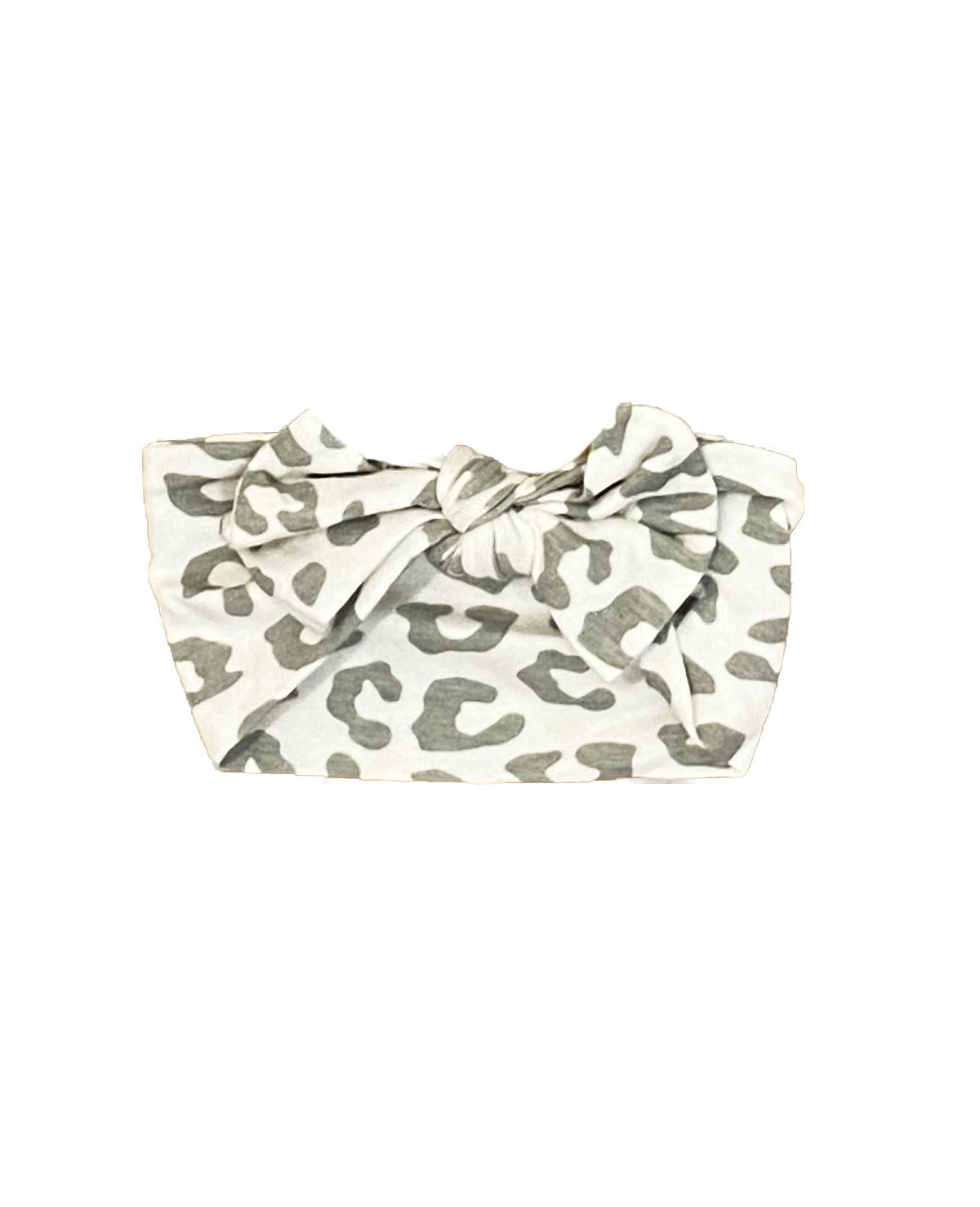 Little Mish White Cheetah Headband