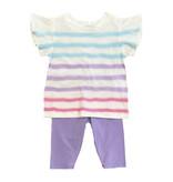 Splendid Optic Flutter Top/ Capri Toddler Set