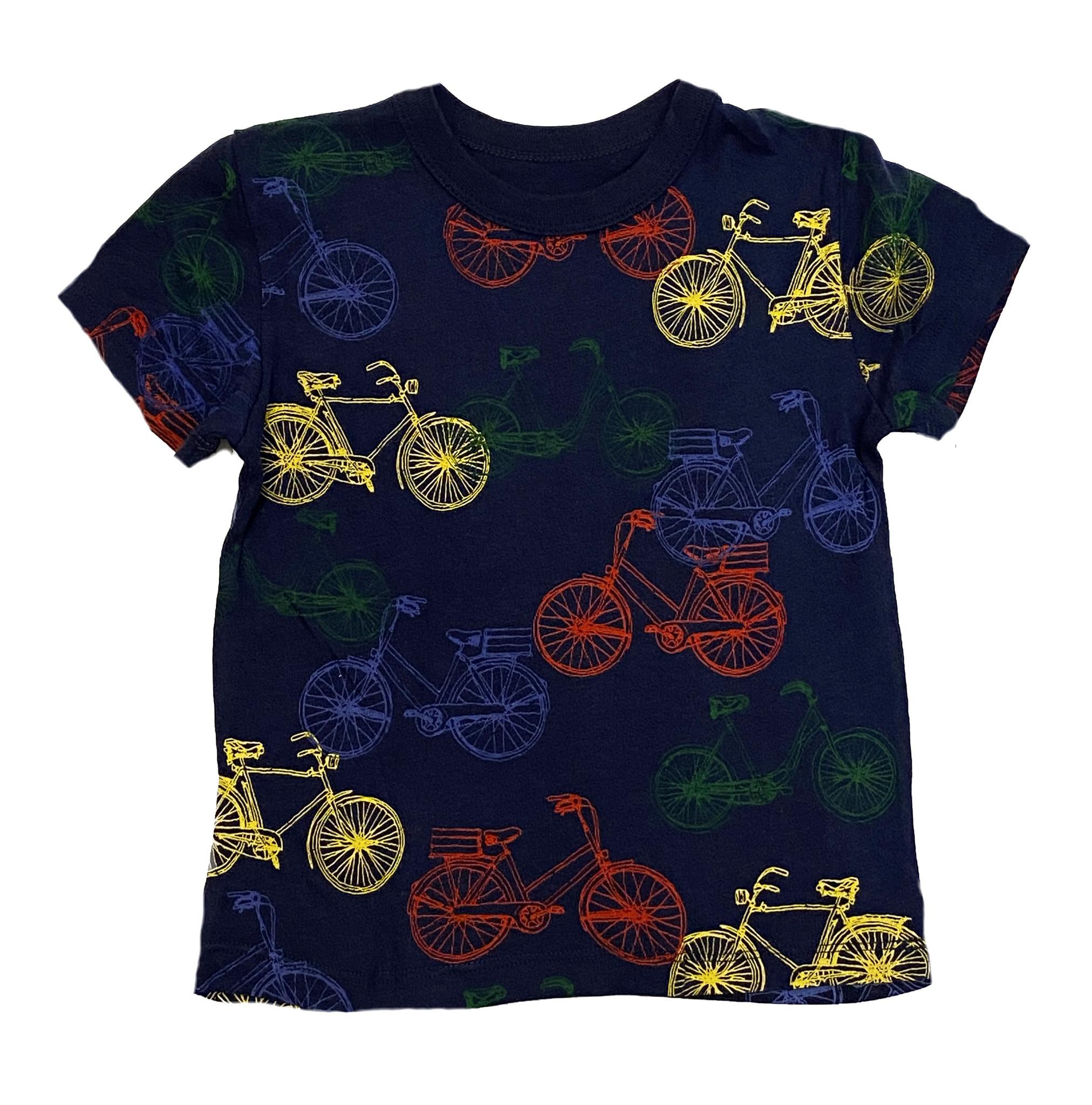 Chaser Blue Bikes Tee
