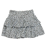 SLS Leopard Two Tiered Skirt