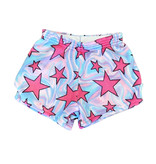 Love & Kisses Swirly Star Plush Shorts