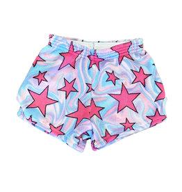 Love & Kisses Swirly Star Plush Shorts