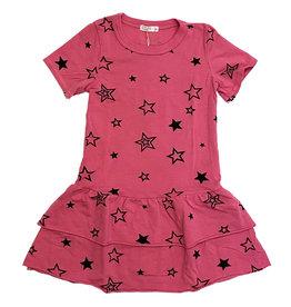 Cozii Hot Pink Stars Dress