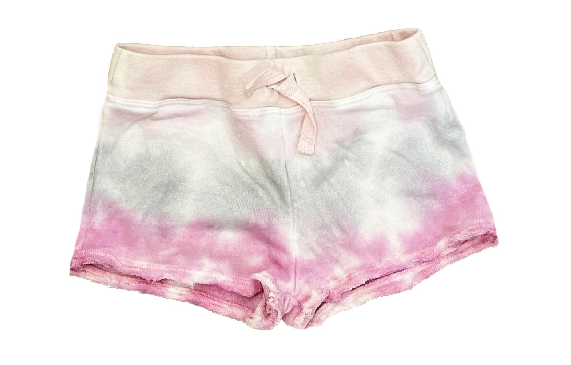 Cozii Pink/Grey TD Infant Sweatshorts