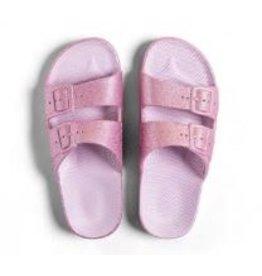 Freedom Moses Slide- Isla Pink Glitter-Kids