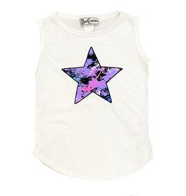 Dori Violet Multi Splatter Star Tank Top