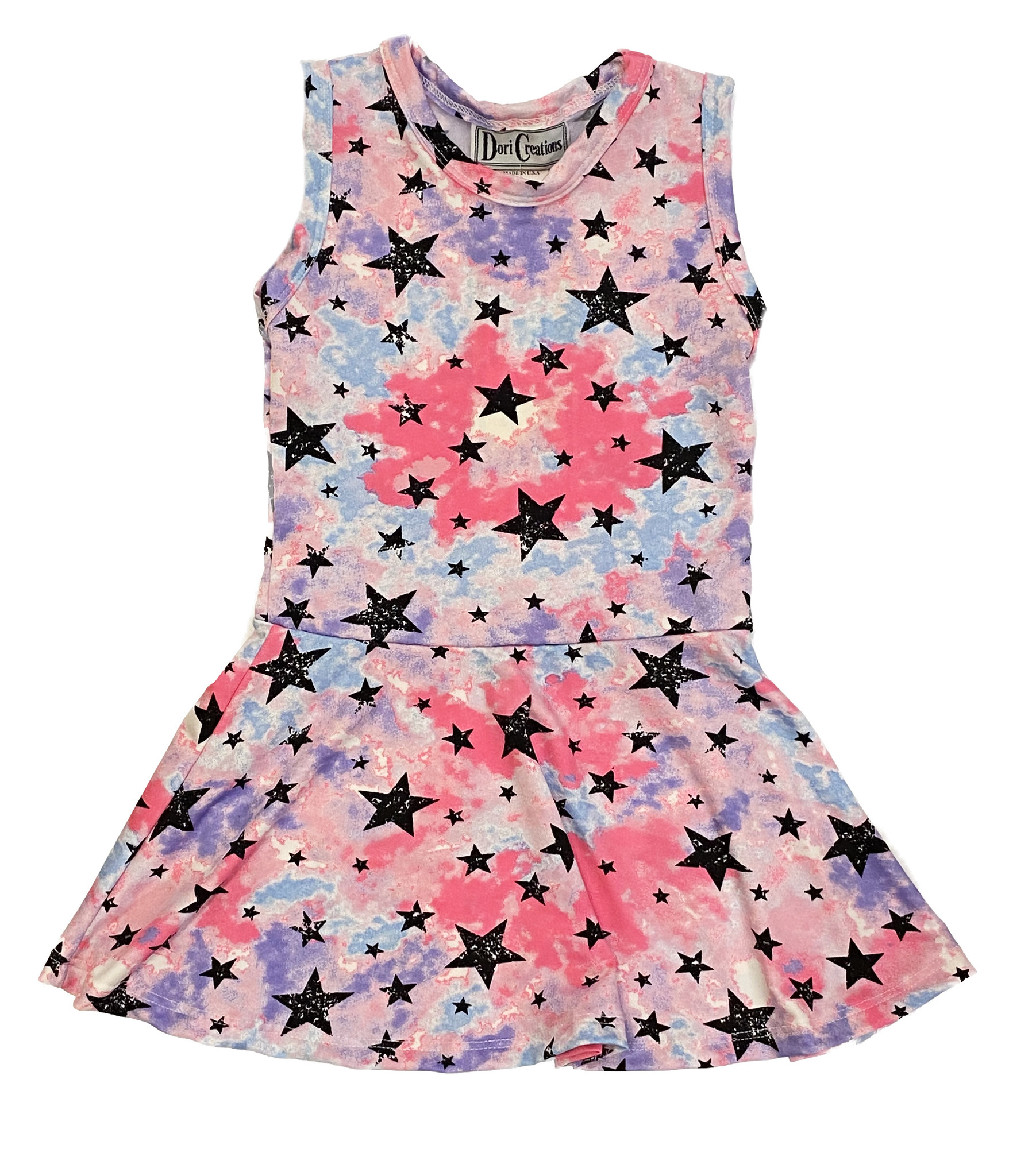 Dori Neon Stars Dress