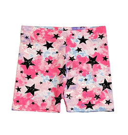 Dori Neon TD Stars Infant Bike Shorts