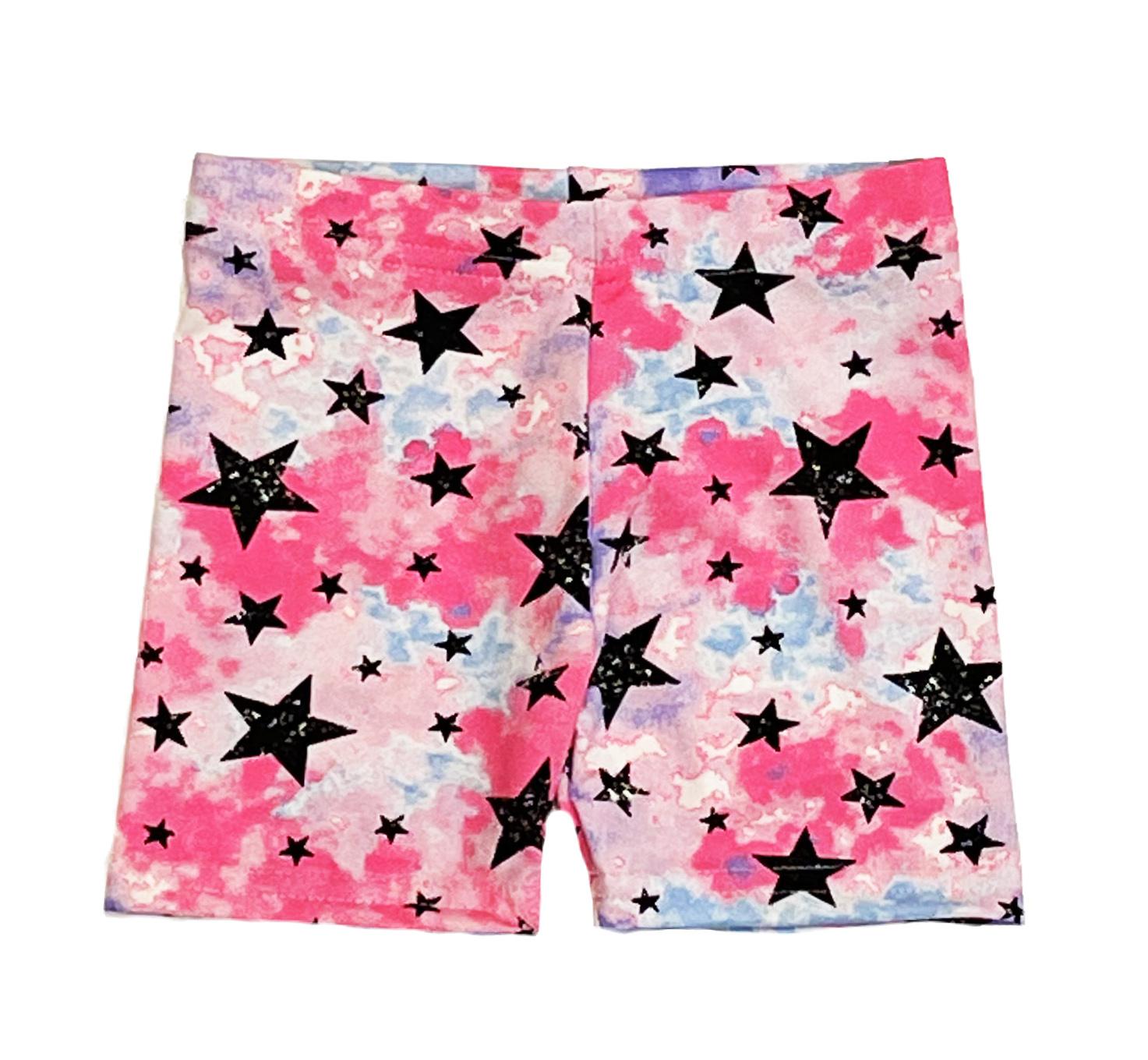 Dori Neon TD Stars Infant Bike Shorts