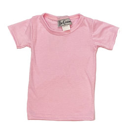 Dori Light Pink Infant Soft Tee