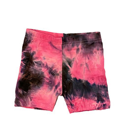 Dori Fuscia/Black TD Infant Bike Shorts