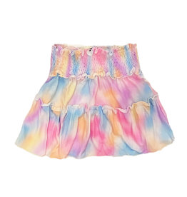 Flowers by Zoe Paint Spray Skirt
