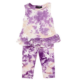 Flowers by Zoe Purple TD Star Infant Set