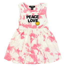 Flowers by Zoe Pink TD Peace/Love Infant Dress