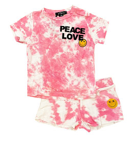 Flowers by Zoe Pink TD Peace/L Short Set Infant