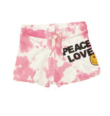 Flowers by Zoe Pink TD Peace Love Shorts
