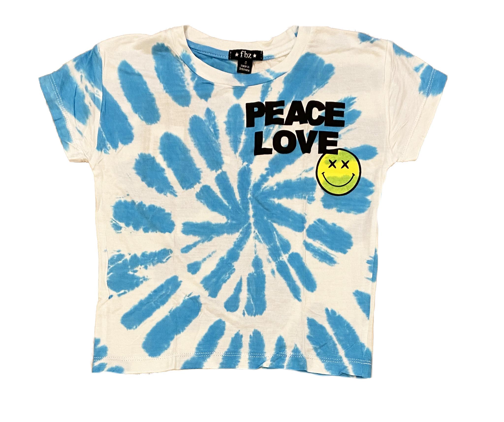 Flowers by Zoe Turq TD Peace Love Tee
