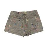 Flowers by Zoe Grey Splatter Ripped Shorts