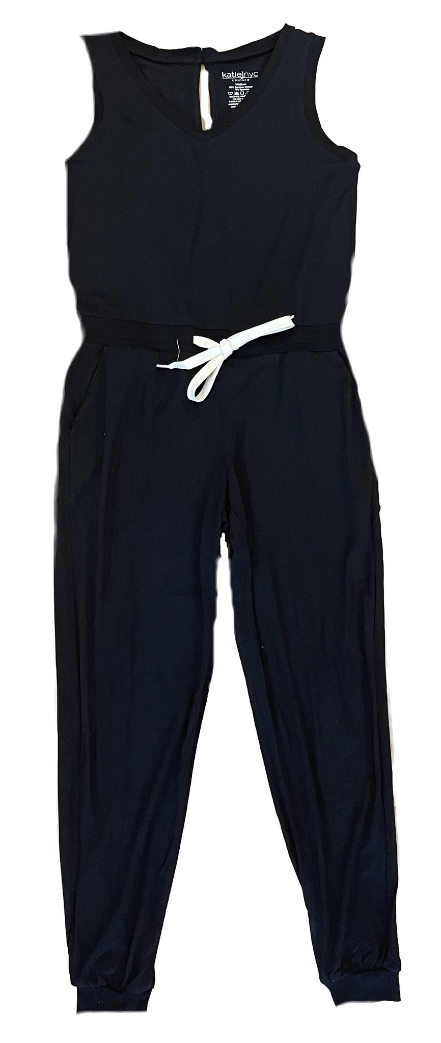 Katie J NYC Black Jumpsuit