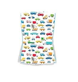 Baby Jar Traffic Jam Burp Cloth