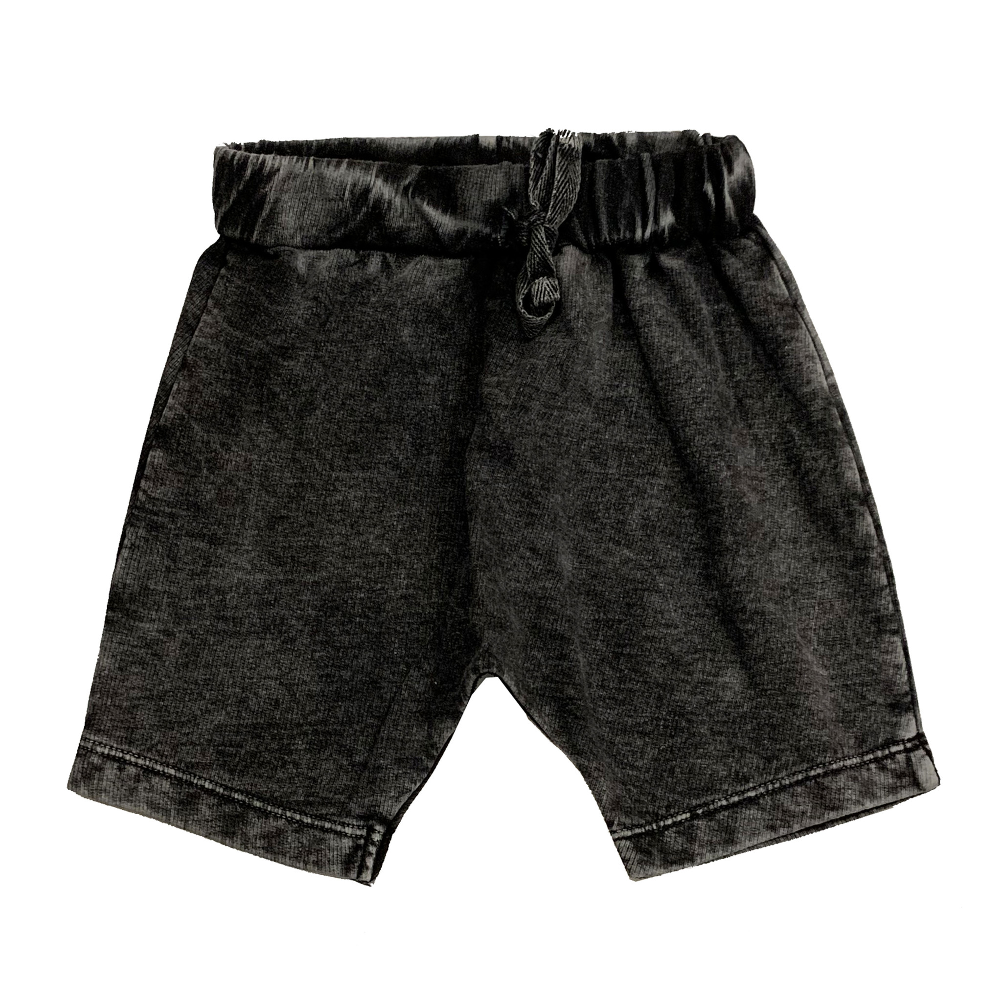 Mish Black Enzyme Harem Shorts
