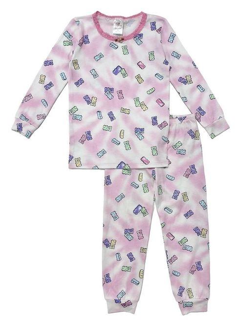 Esme Shimmer Candy Bear PJ Set