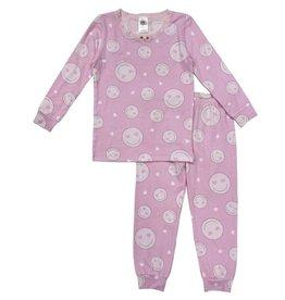 Esme Pink Smiley Infant PJ Set