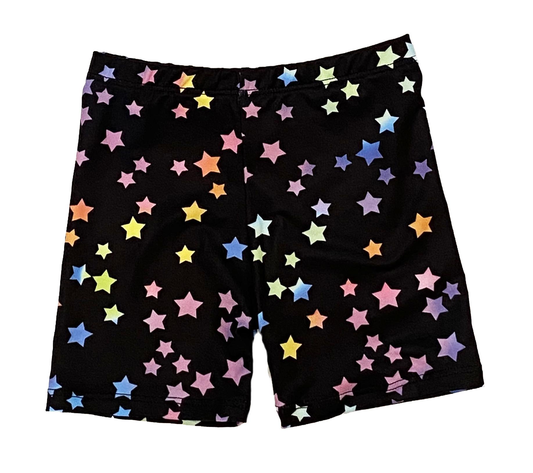 Social Butterfly Rainbow Stars Infant Bike Short