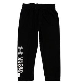 Under Armour Black Mesh Logo Pants