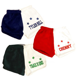 Camp Stars Custom Fuzzy Lounge Shorts
