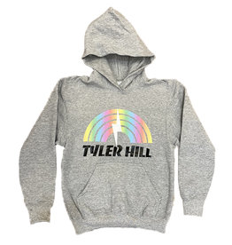Rainbow Bolt Custom Camp Hoodie