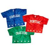 Stars Logo Tie Dye Custom Camp Tee