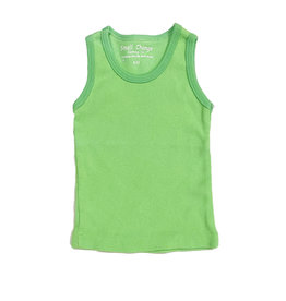 Small Change Lime Ribbed Tank Top
