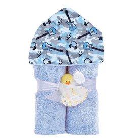 Baby Jar Camo Rock On Towel Set