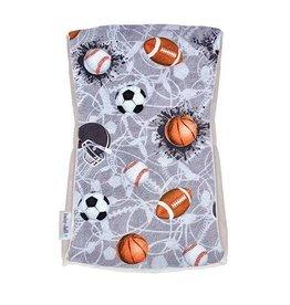 Baby Jar Sports Jam Burp Cloth
