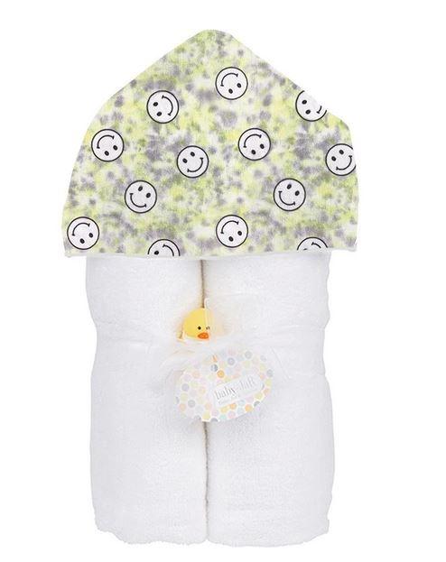 Baby Jar Yellow TD Smiley Towel Set