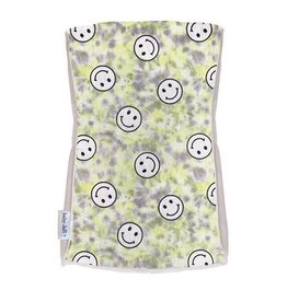 Baby Jar Yellow TD Smiley Burp Cloth