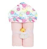 Baby Jar Pink TD Smiley Towel Set