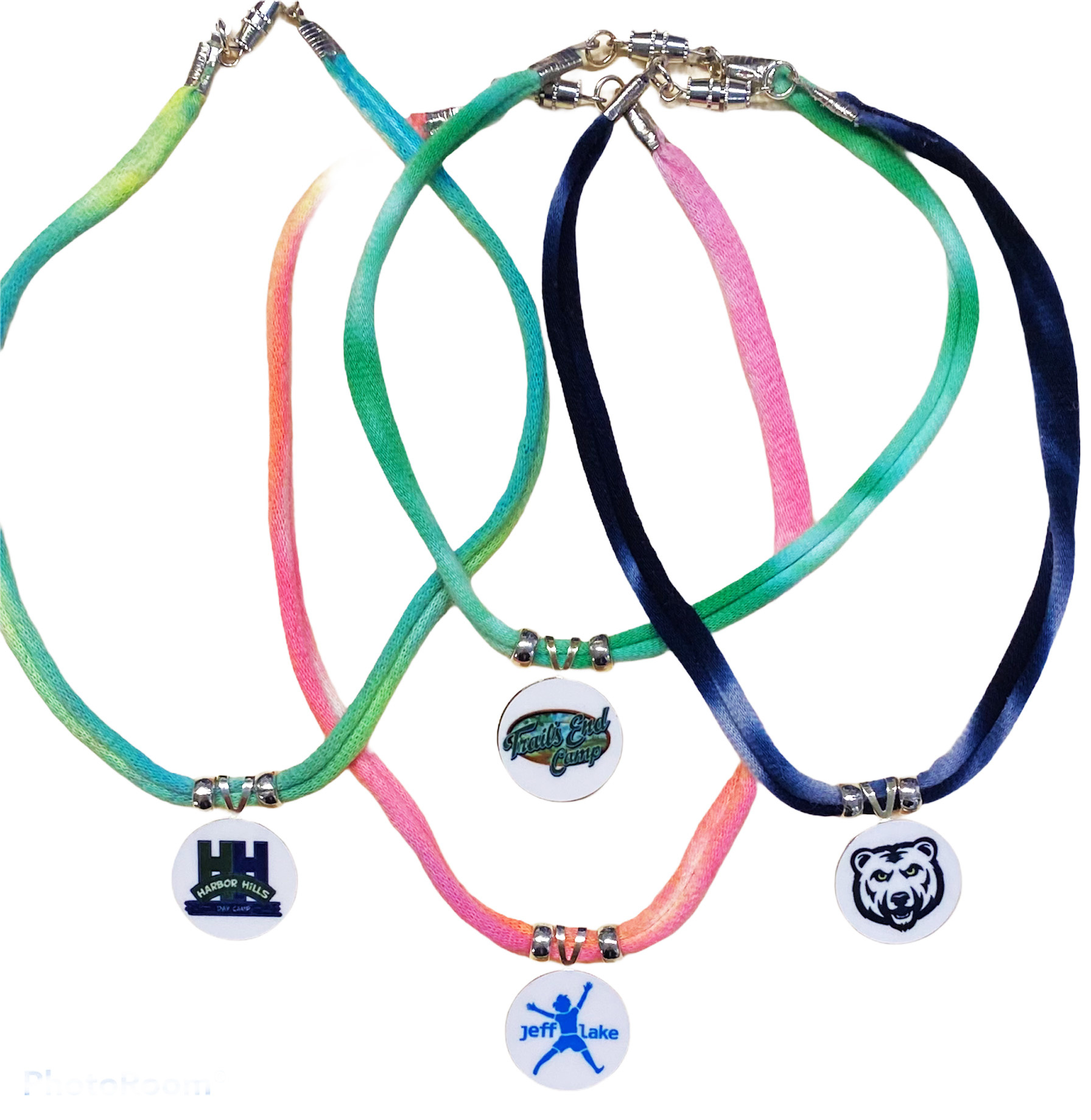 Camp TD Choker Necklace