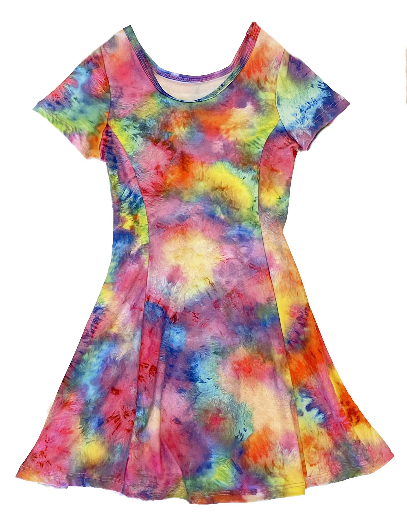 Social Butterfly Bright TD Dress