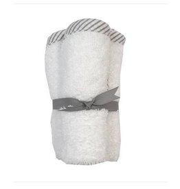 Check Trim 3pk Washcloth Set - 3 Colors