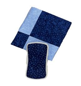 Amy's Blue Stars Blanket