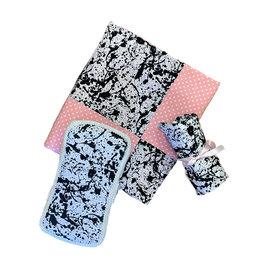 Amy's Pink Splatter Blanket