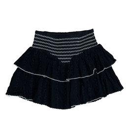 Katie J NYC Blk/Wht Trim Skirt