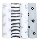 Aden + Anais Lovestruck 4pk Swaddles