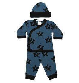 Little Mish Denim Star Bolt 3 pc Take Home Set